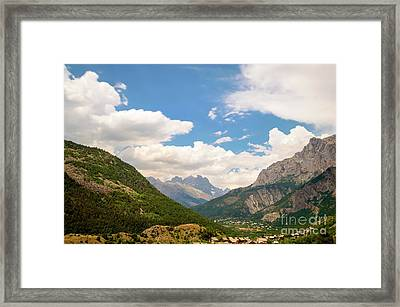 In The Mountains, French Alps Framed Print by Sinisa CIGLENECKI