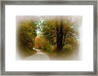 Framed Print featuring the digital art In The Mountains Of Georgia by Sharon Batdorf