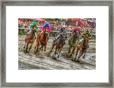 In The Mud Framed Print