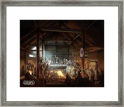 In The Name Of Odin Cover Art Framed Print