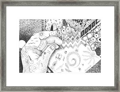 In The Name Of One Framed Print