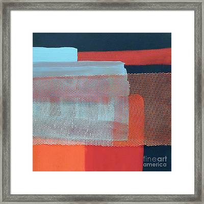 In The Navy Framed Print by Jilian Cramb - AMothersFineArt