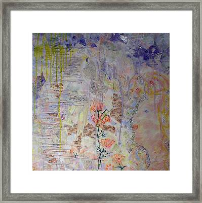 In The Now Framed Print by Heather Hennick
