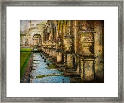 Framed Print featuring the photograph In The Past And Present by John Rivera