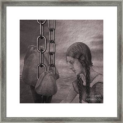 In The Past Framed Print by Issabild -