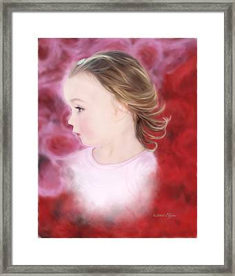 In The Pink Framed Print by Elzire S