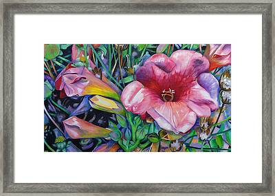 In The Pink Framed Print by Jeremy Holton