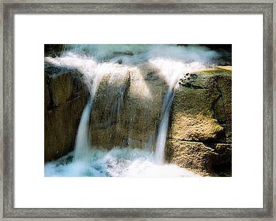 Framed Print featuring the photograph In The Pit by Alison Frank