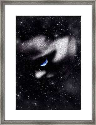 In The Quiet Of Your Mind Framed Print