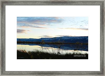 Summerlake 1 Framed Print