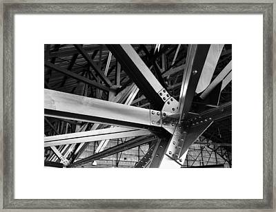 In The Rafters Framed Print