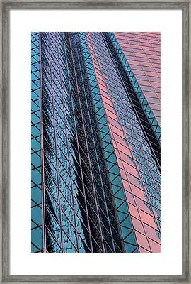 Framed Print featuring the photograph In The Red by Jeffrey Jensen