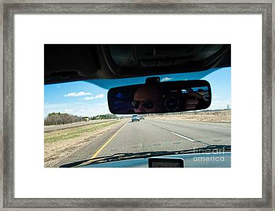 In The Road 2 Framed Print