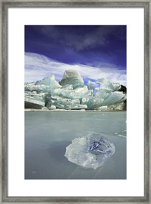 In The Rough Framed Print by Ed Boudreau