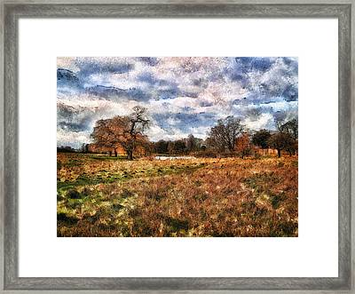 In The Rough Framed Print
