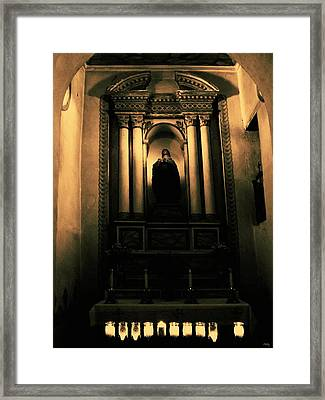 In The Sanctuary Framed Print by Glenn McCarthy Art and Photography