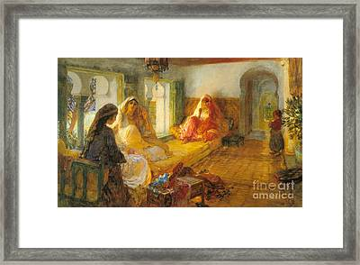 In The Seraglio Framed Print by MotionAge Designs