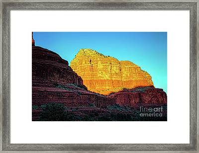 In The Shadow Of The Bell Framed Print by Jon Burch Photography