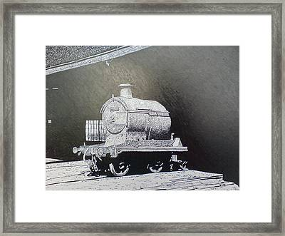 In The Shadows Framed Print by Andy Davis
