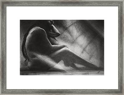 In The Shadows Framed Print by Christian Klute