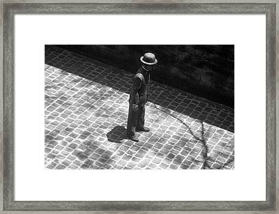 In The Shadows Framed Print by Jez C Self