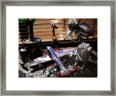 In The Shadows Of The Night Framed Print