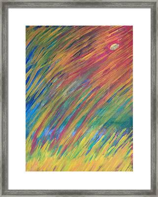 In The Sky--thanks To Mark Knopfler Framed Print