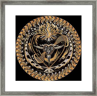 In The Sound Framed Print by Pam Ellis