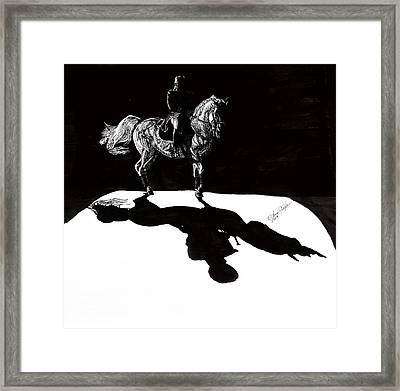 In The Spotlight I Framed Print by Lana Tyler
