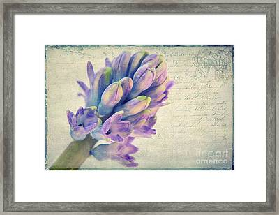 In The Spring Framed Print by Angela Doelling AD DESIGN Photo and PhotoArt