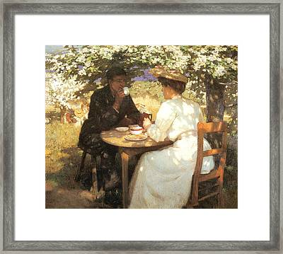 In The Spring Framed Print by Harold Knight