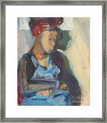 In The Still Of Quiet Framed Print