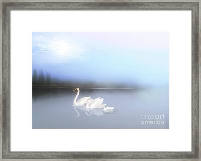 In The Still Of The Evening Framed Print