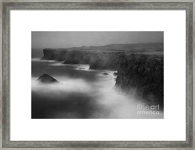 In The Storm 5 Framed Print