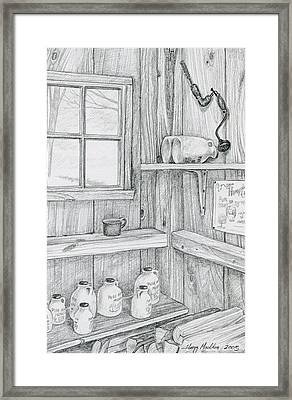 In The Sugar House Framed Print