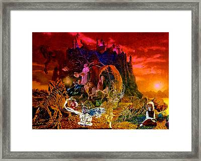 In The Theater Of Time Framed Print