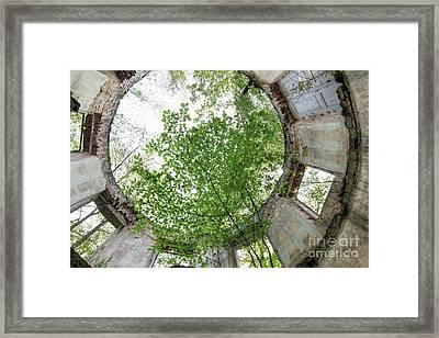 In The Tower Framed Print by Michal Boubin