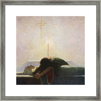 In The Tower Of London Framed Print by Newell Convers Wyeth