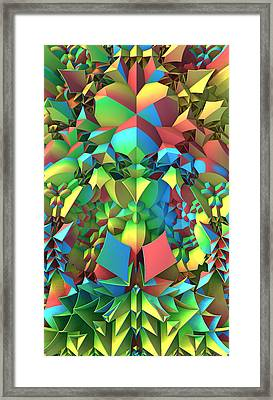 Framed Print featuring the digital art In The Tropics by Lyle Hatch