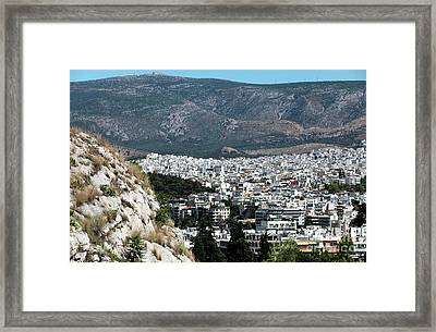 In The Valley Framed Print by John Rizzuto