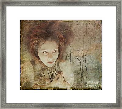 In The Wake Of Adversity Framed Print