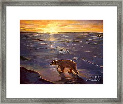In The Wilderness Framed Print by Kevin Parrish
