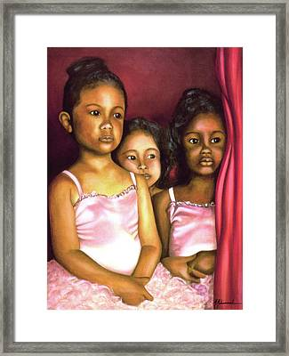 In The Wings Framed Print by Marcella Muhammad