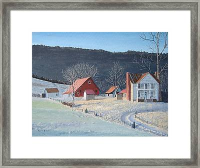 In The Winter Of My Life Framed Print by Norm Starks