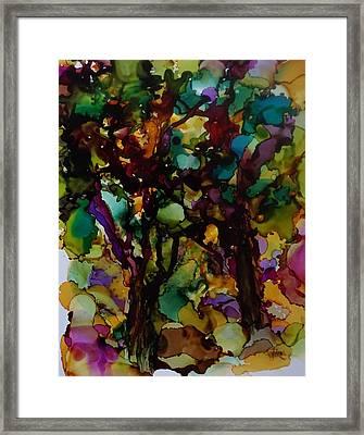 In The Woods Framed Print by Alika Kumar