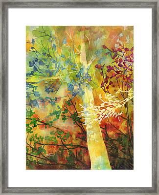 In The Woods Framed Print by Hailey E Herrera