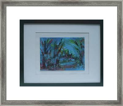 In The Woods Framed Print by Vivien Ferrari