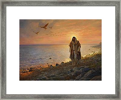 In The World Not Of The World Framed Print