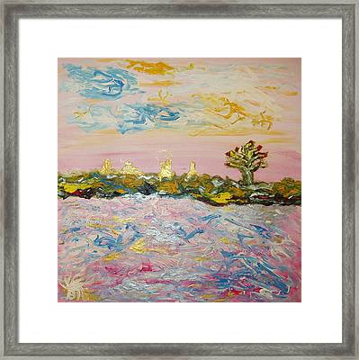In The World Of Illusions Framed Print