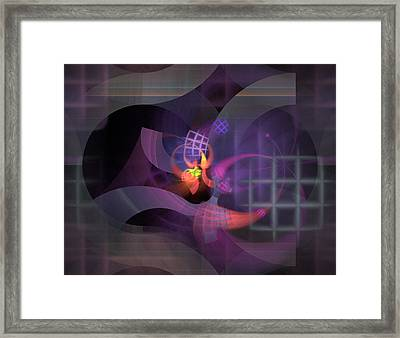 In The Year Of The Tiger - Fractal Art Framed Print by NirvanaBlues